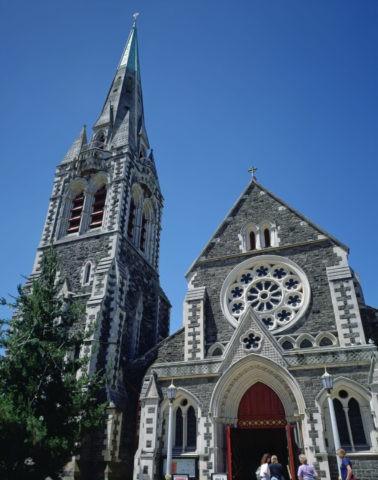 ニュ−ジ−ランド クライストチャ−チ 大聖堂
