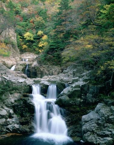 三段峡の紅葉