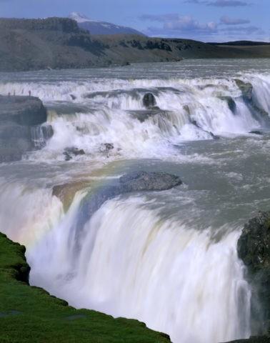 グトルフォスの大滝
