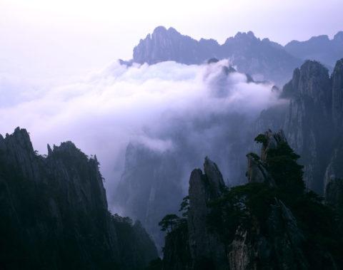 黄山 雲海 世界遺産
