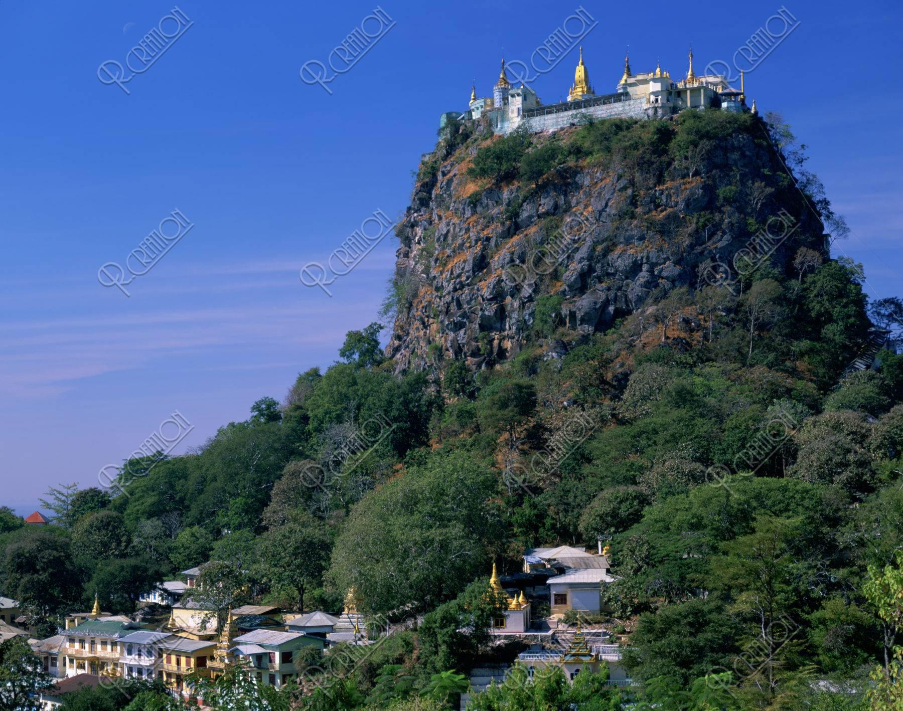 ホッパ山 寺社
