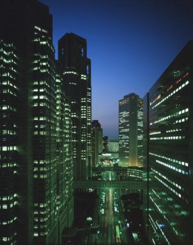 東京都庁夜景