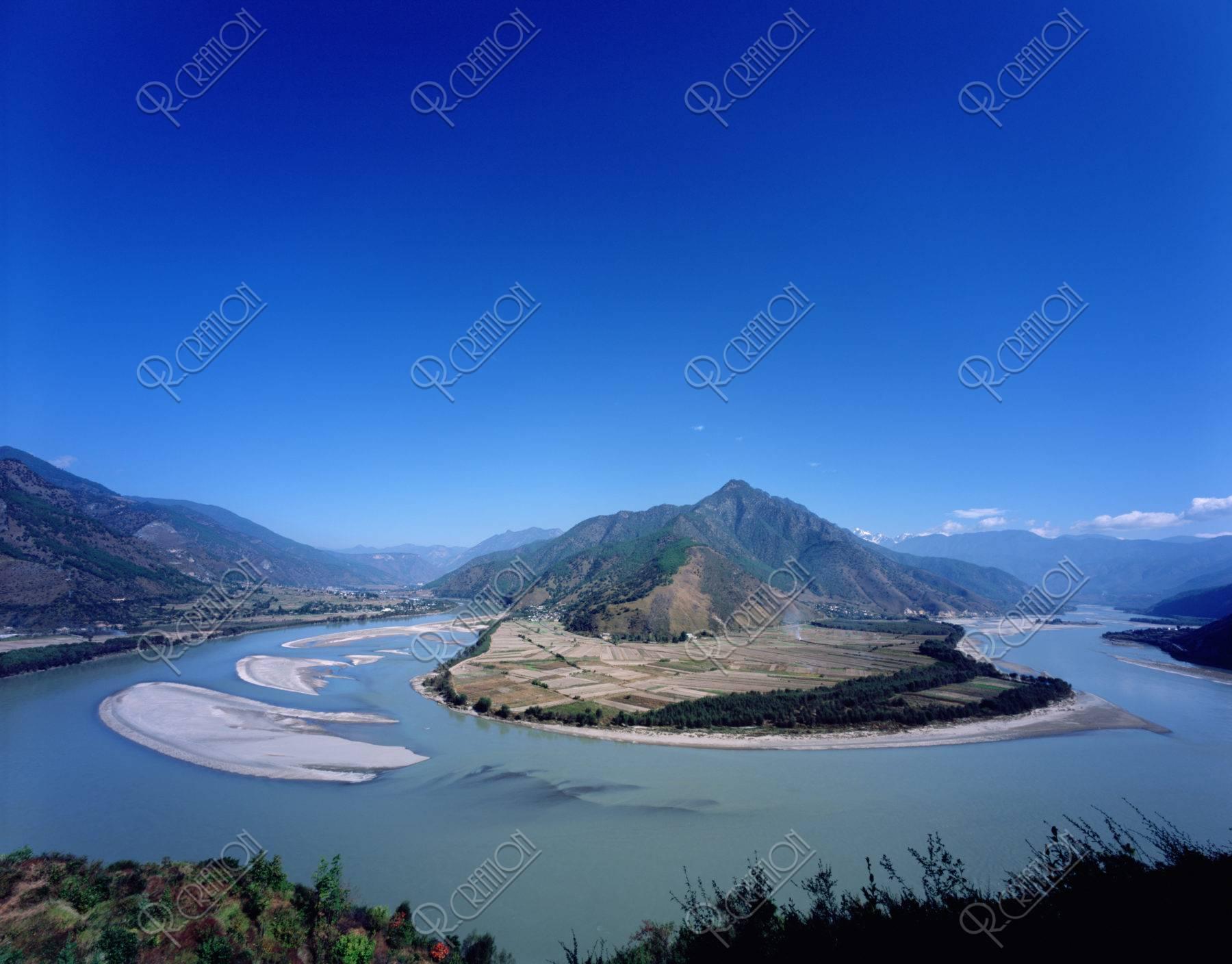 長江第一湾 シャングリラ 世界遺産
