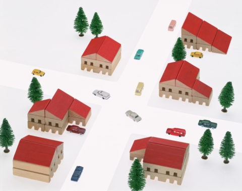 住宅街イメージ