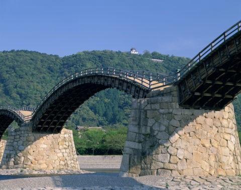 新緑の錦帯橋
