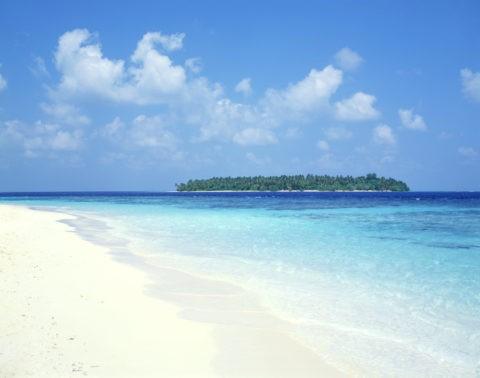 ビーチと島 モルディブ