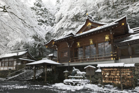 貴船神社 拝殿