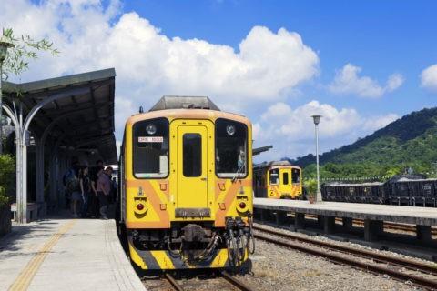 台湾 平渓線十分駅