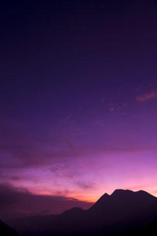 三俣山 夜明け