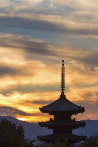 八坂の塔 夕景