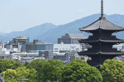 東寺 新幹線