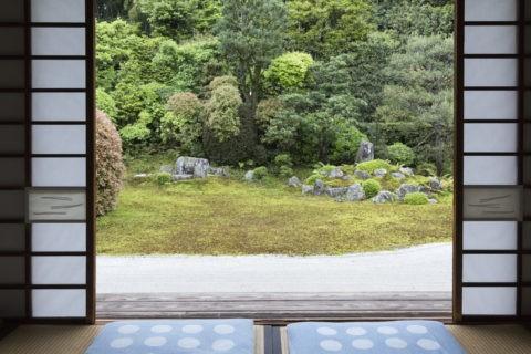 芬陀院 鶴亀の庭