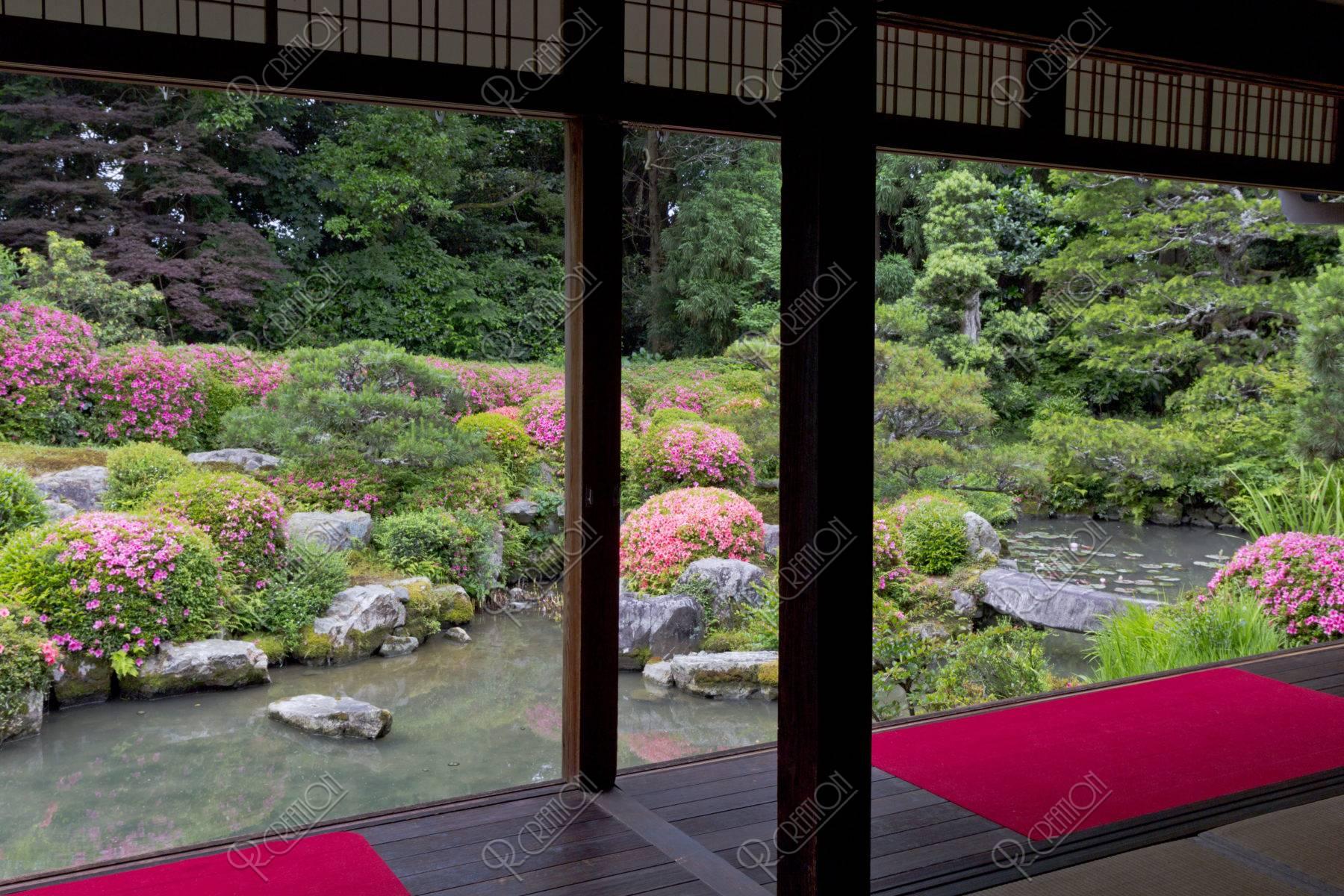 穴太寺 庭園