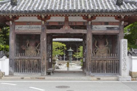 穴太寺 仁王門