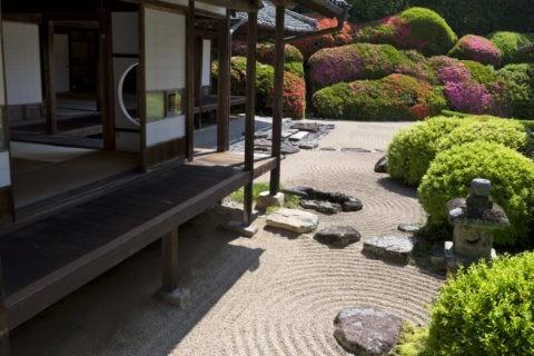 頼久寺 庭園