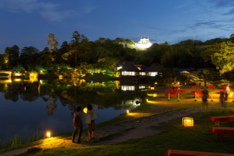 玄宮園夜景