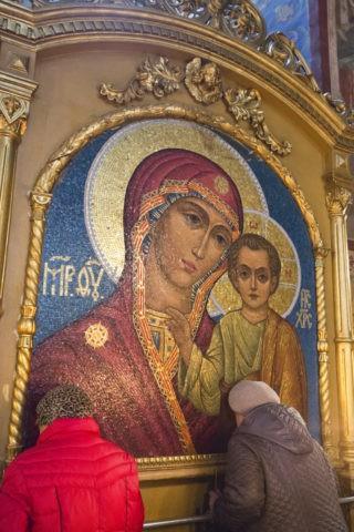 ウスペンスキー大聖堂 イコン