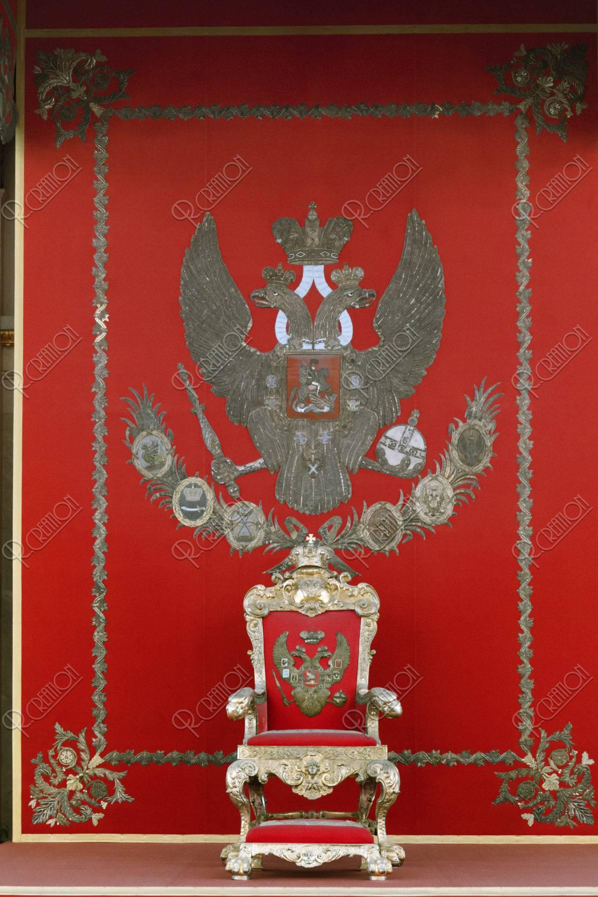 エルミタージュ美術館 ロマノフ王朝の紋章