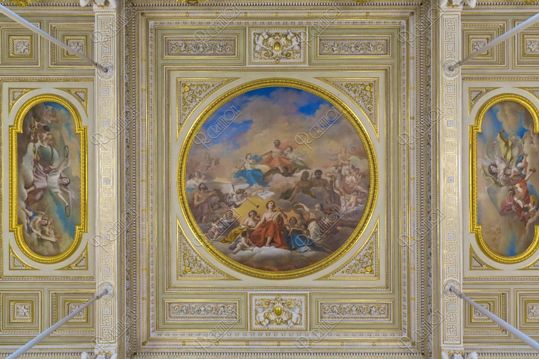 エルミタージュ美術館 天井画