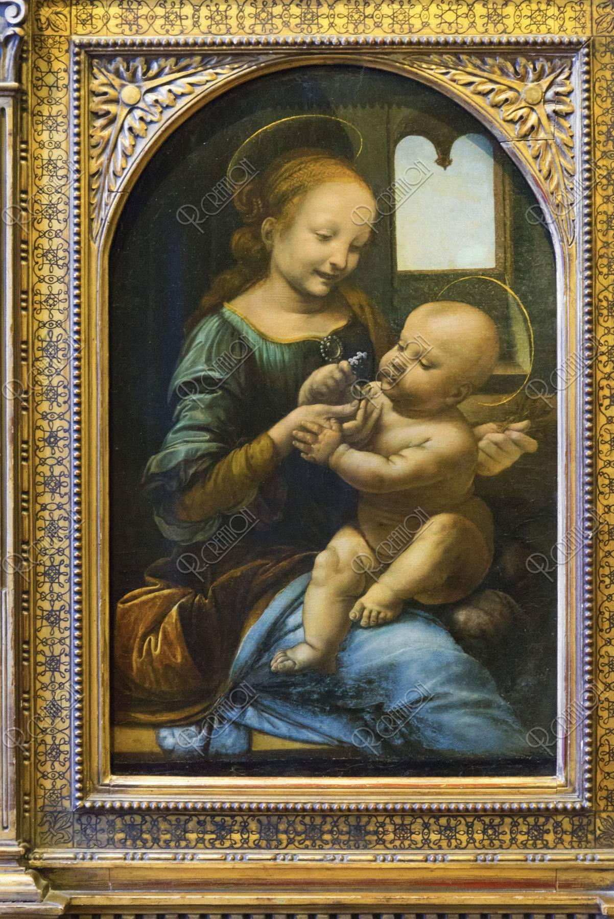 エルミタージュ美術館 聖母ブノワ