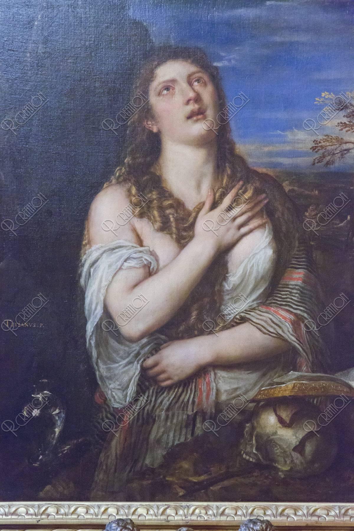エルミタージュ美術館 懺悔するマグダラのマリア