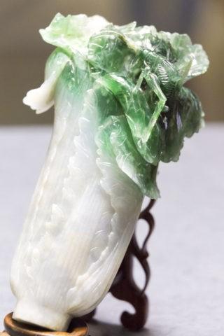 故宮博物院 翠玉白菜