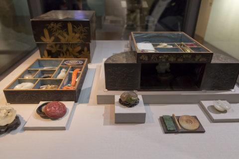 故宮博物院 日本蒔絵松竹二層小箱