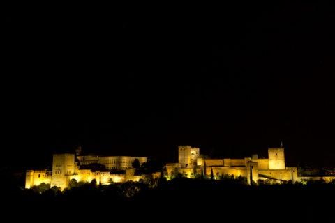 アルハンブラ宮殿 夜景