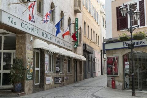 ジブラルタル 旧市街