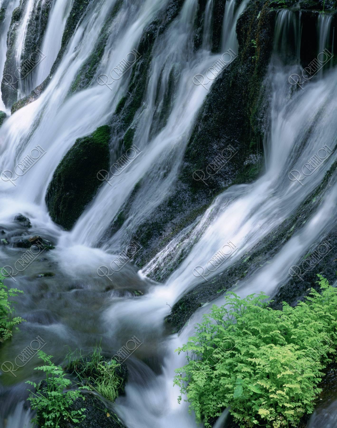 白糸の滝付近