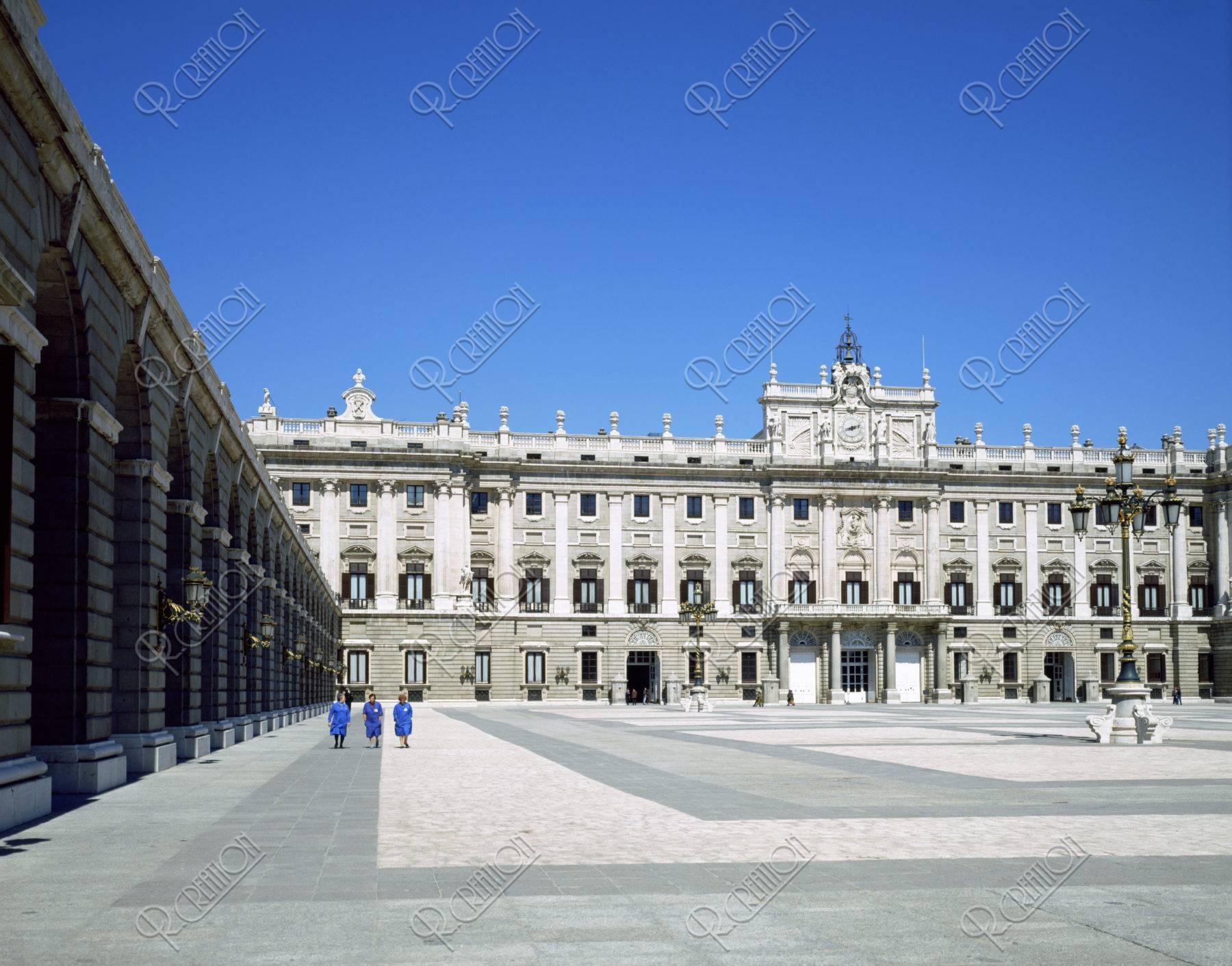 王宮 マドリード スペイン