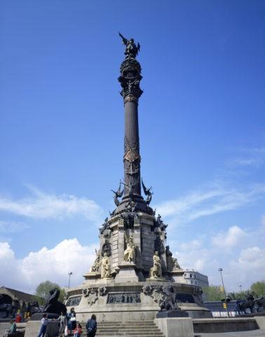 コロンブス記念碑 バルセロナ スペイン