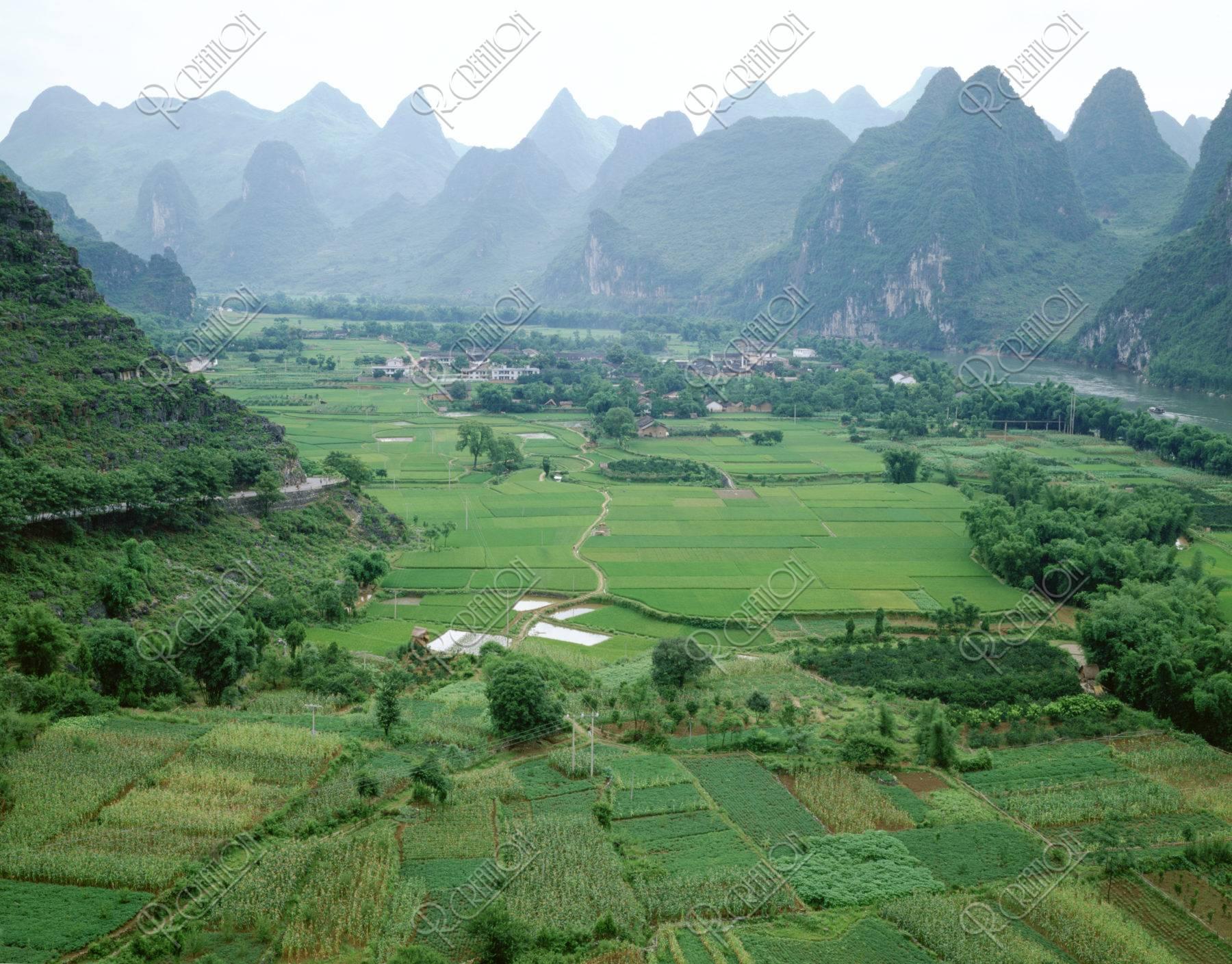 田園と山水
