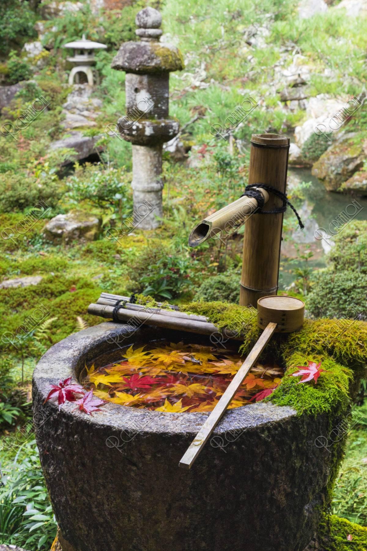 楊谷寺 手水鉢