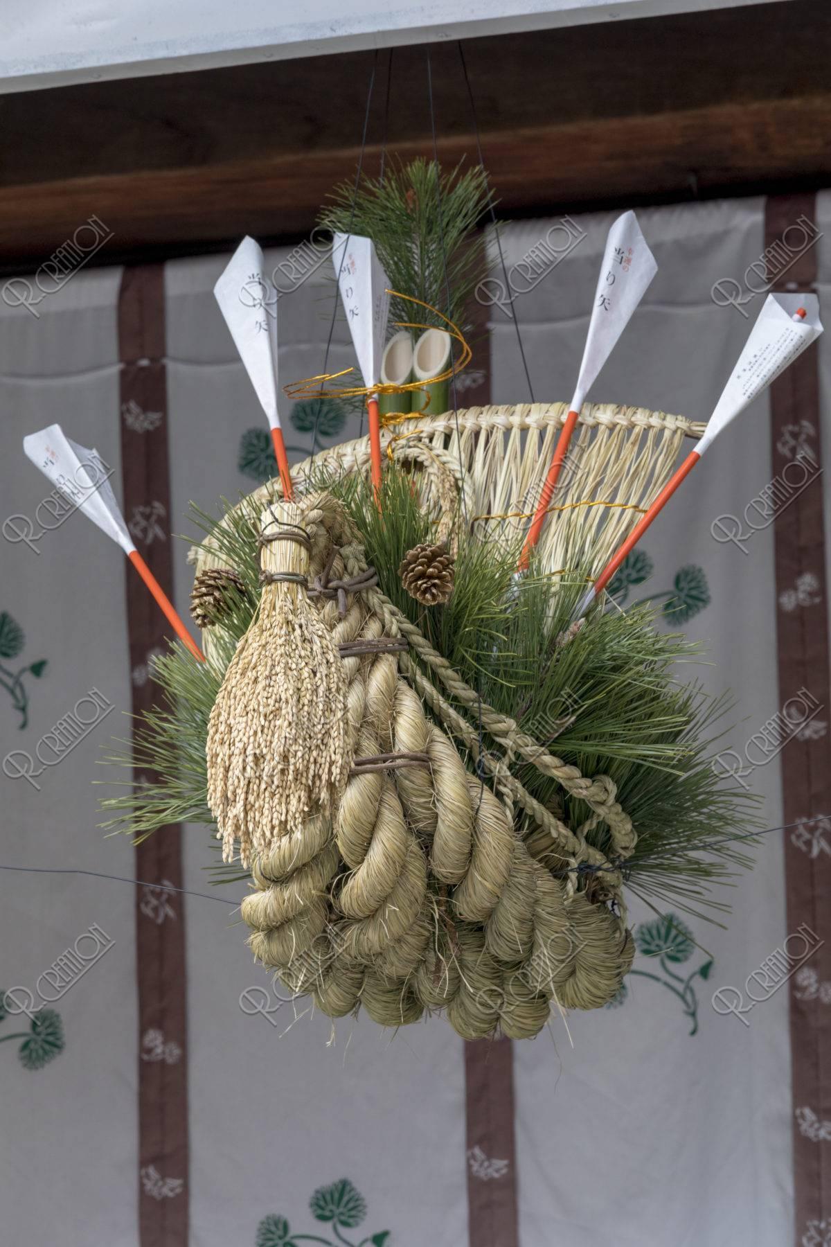 上賀茂神社 正月飾り