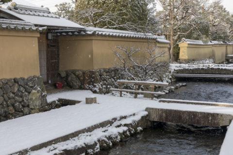 雪の上賀茂社家町