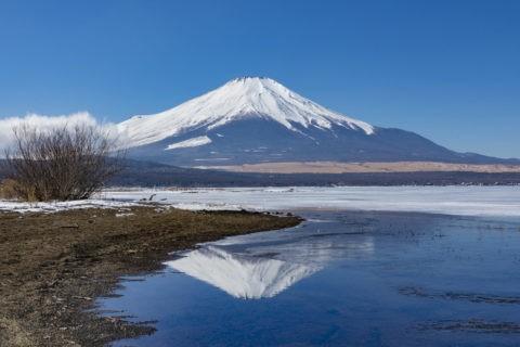 逆さ富士 山中湖