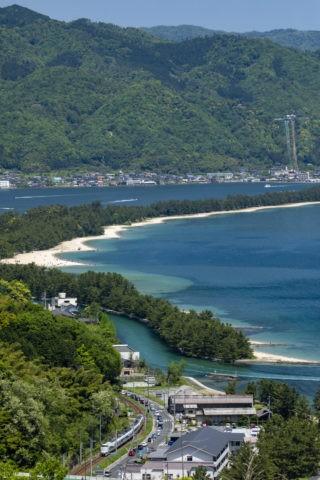 天橋立と京都丹後鉄道