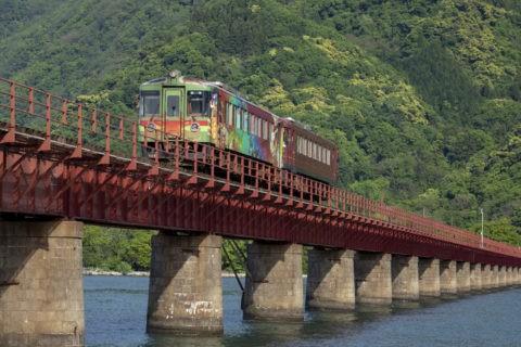 由良川と京都丹後鉄道