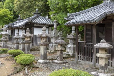 徳源院 京極家の墓所