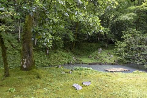 近江孤篷庵 庭園