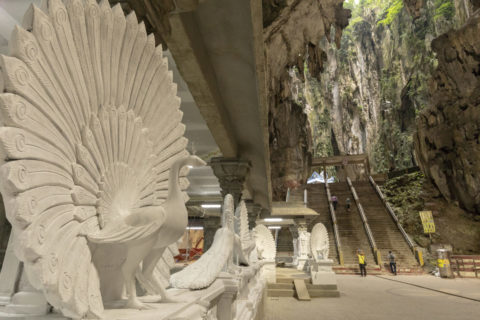 バトゥ洞窟 内部