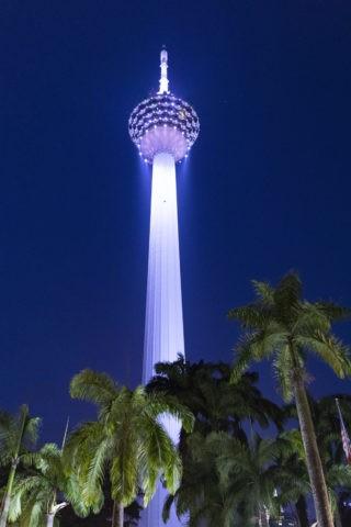 KLタワーの夜景