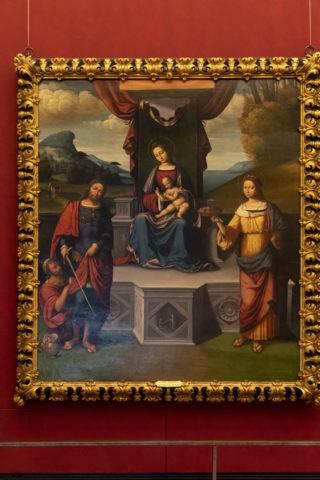 聖ドロテアとマルティノと聖母と子供