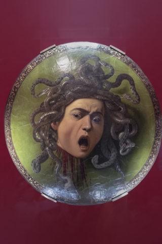 メドゥーサの頭部