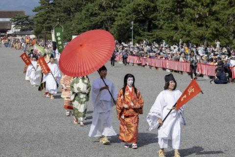 時代祭 中世婦人列