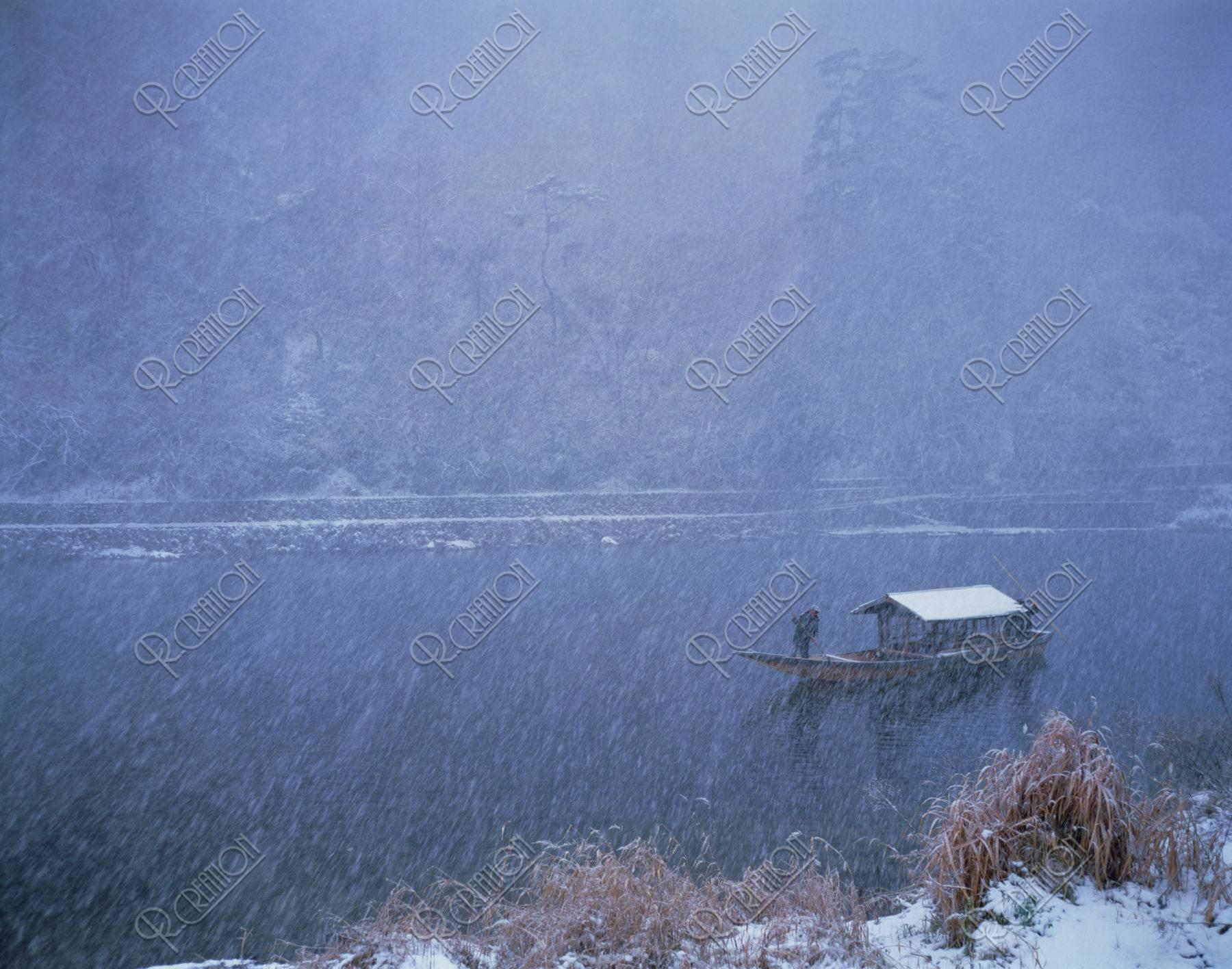 嵐山 屋形船
