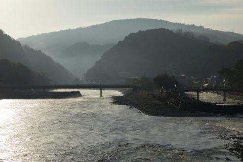 宇治川の川霧