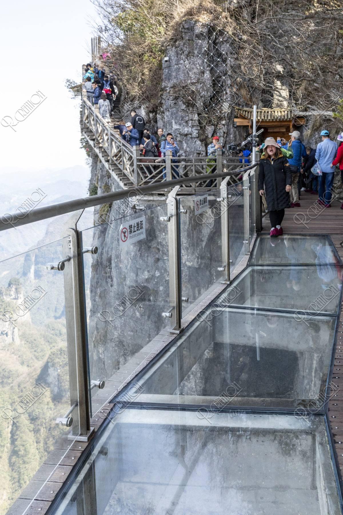 天門山 玻璃桟道