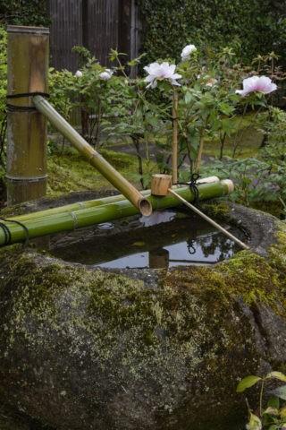 正法寺 手水鉢